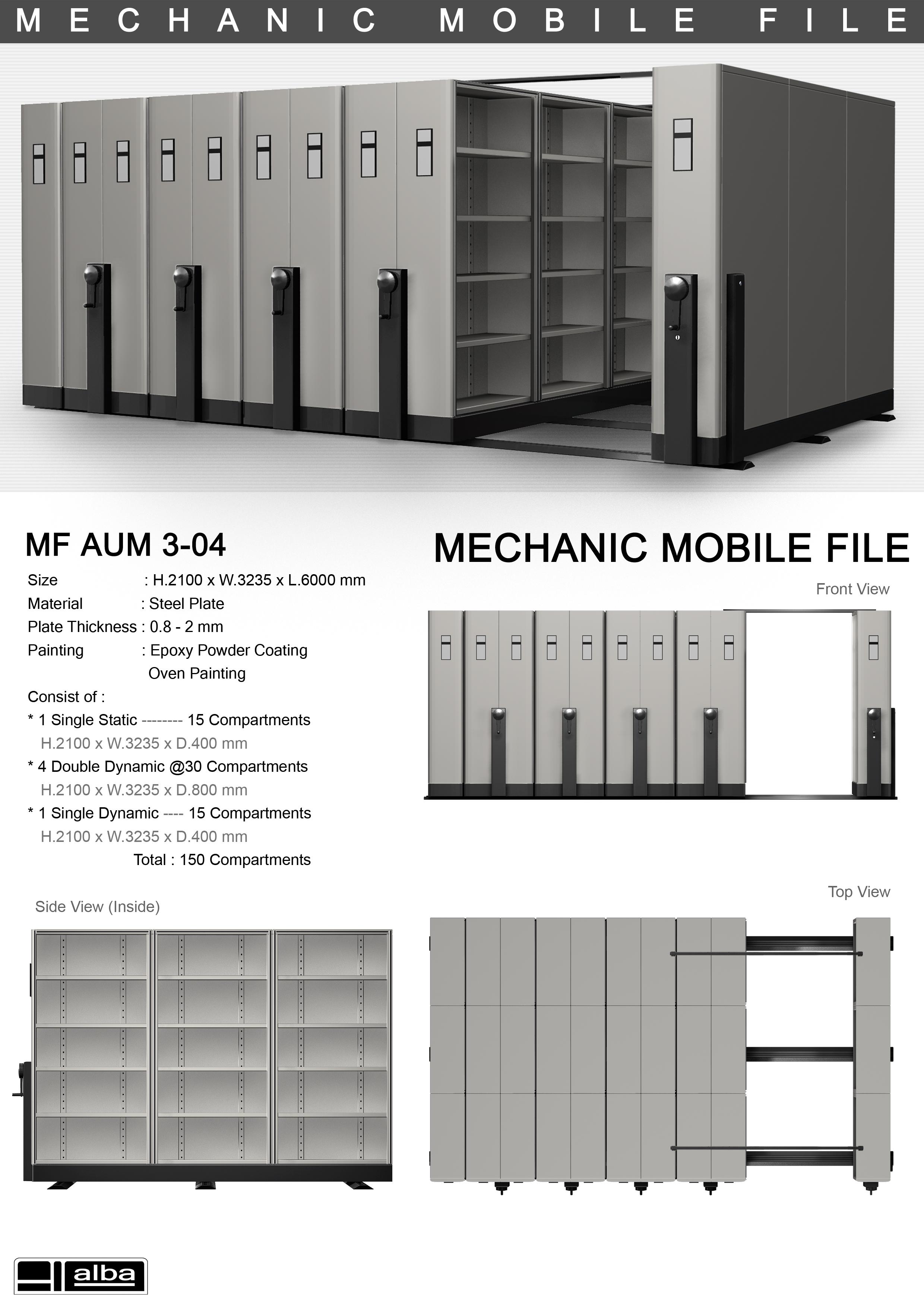 Mobile File Mekanik Alba 3-04 LiPi