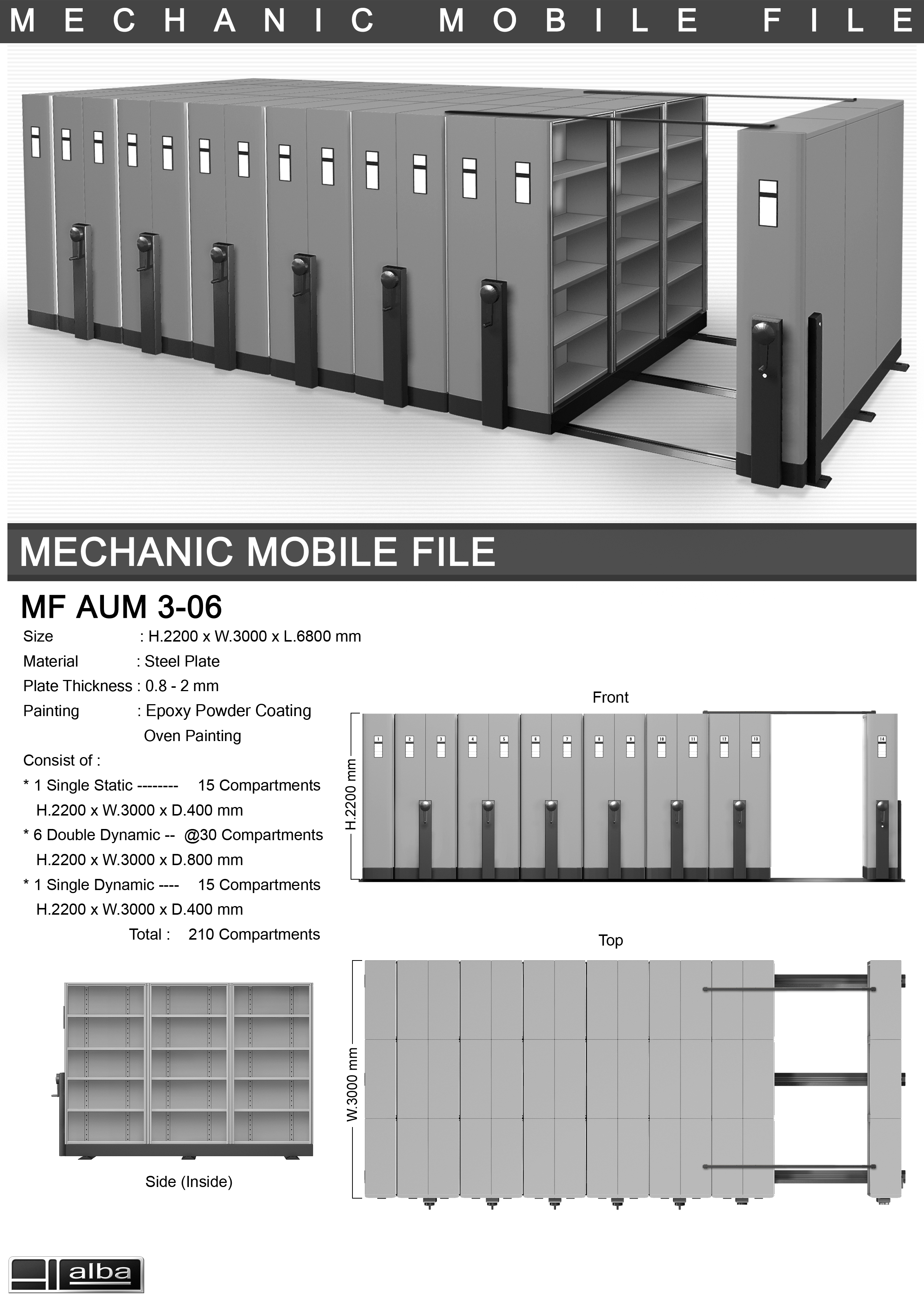 Mobile File Mekanik Alba 3-06 B