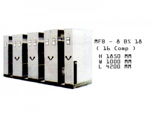 Mobile File Brother MFB - 8 BS 18
